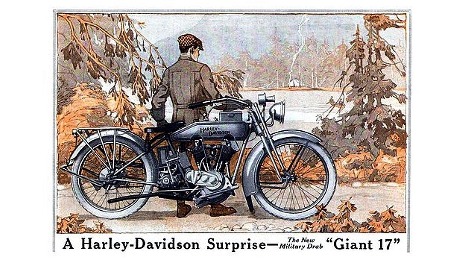 Harley Davidson 1917