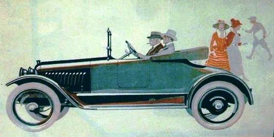 Grant Six 1917