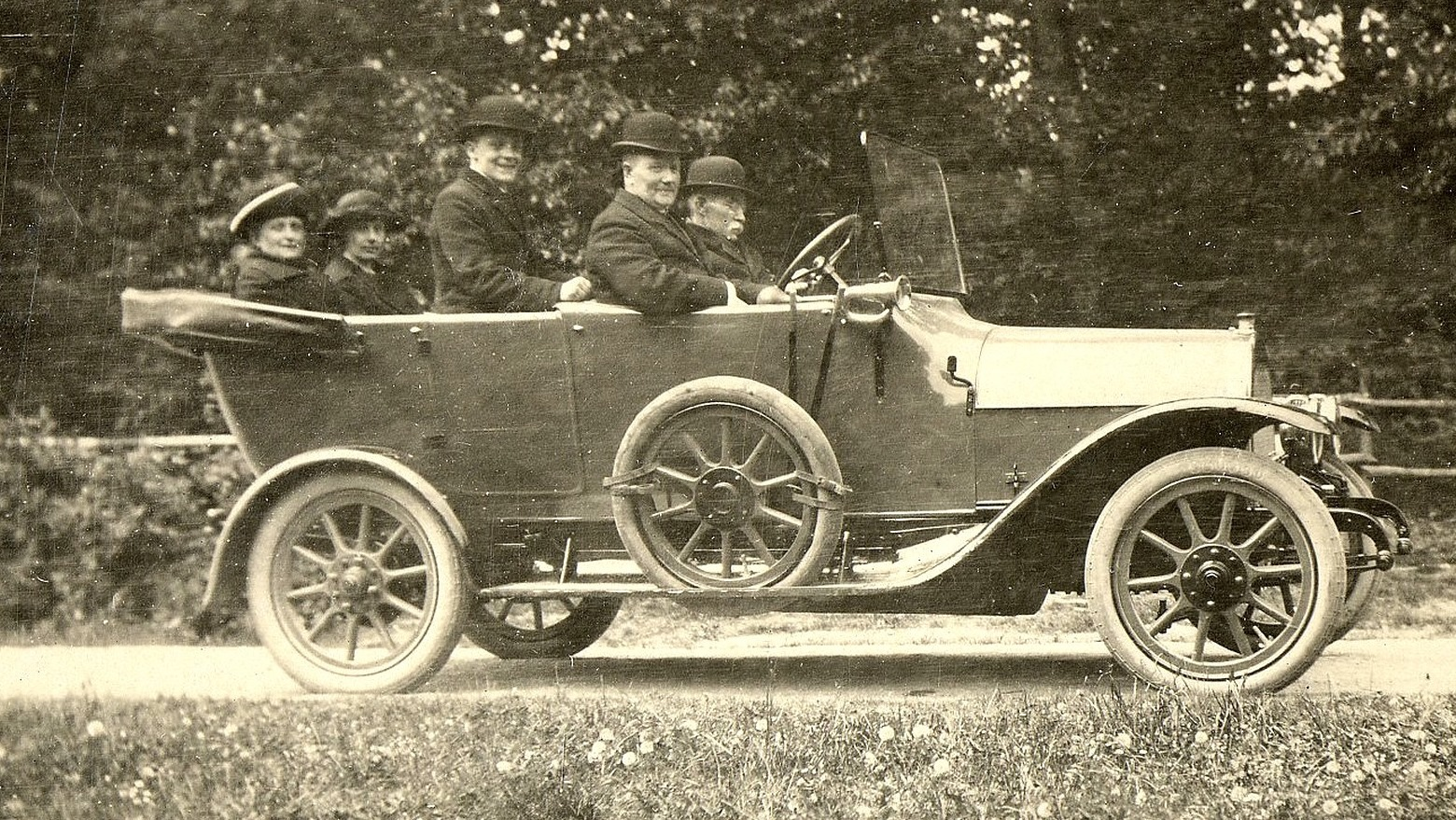 H. P. Holm i Brennabor 1919
