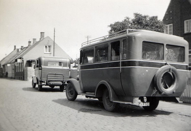 DBJ rutebil 1939 J 2286 og J 416