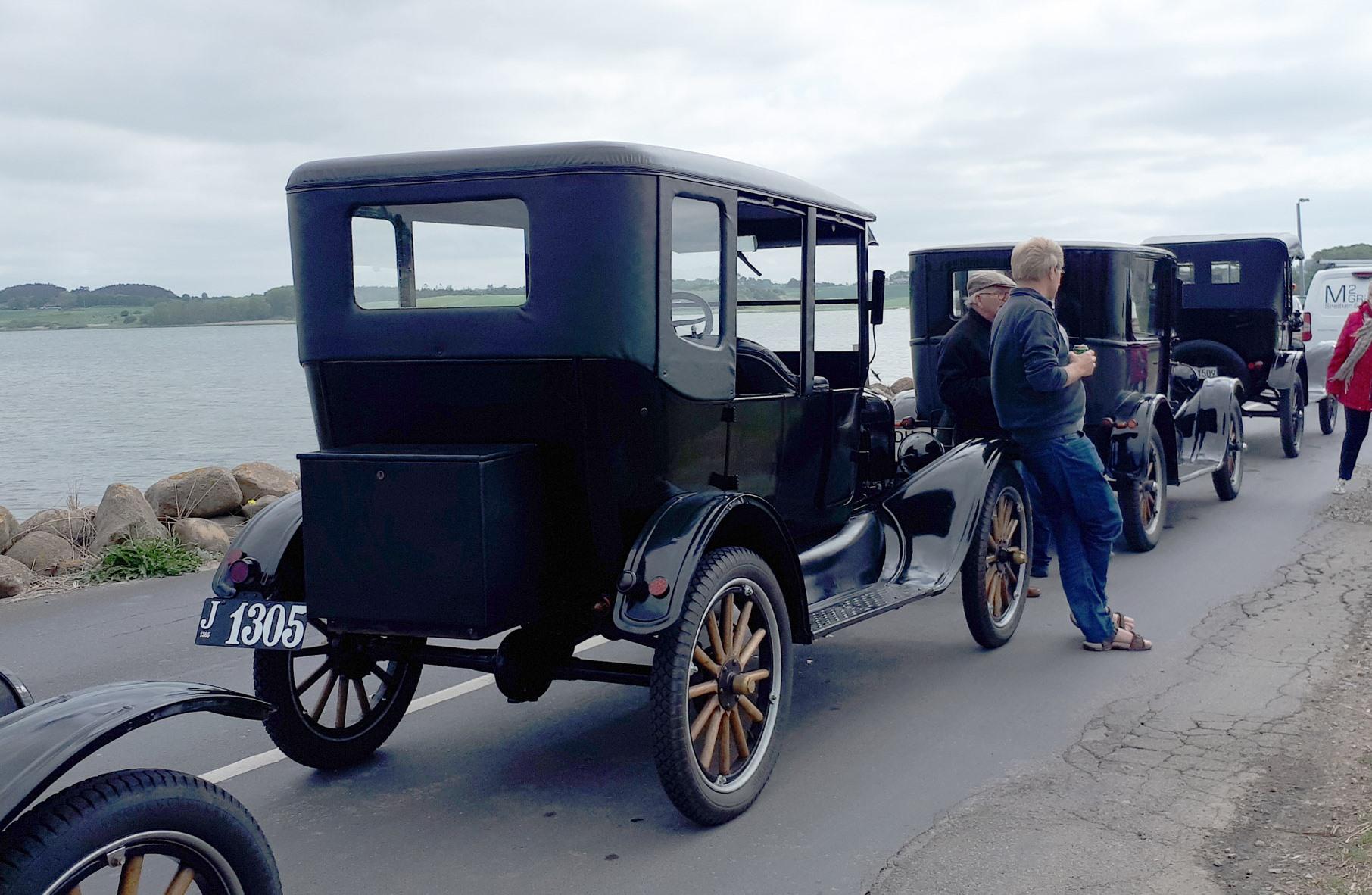 Reuss´s Ford T På Tur.