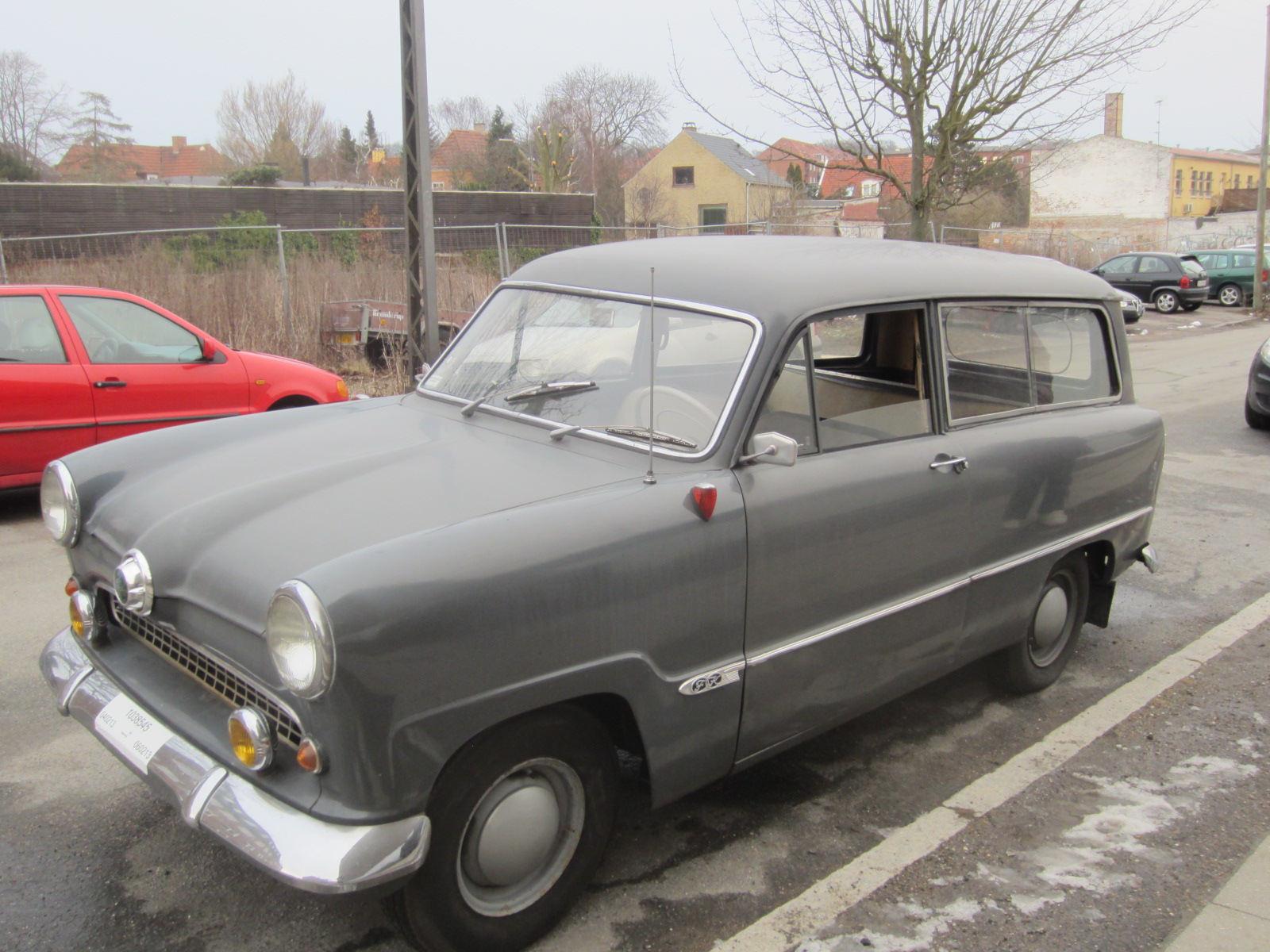 01 Ford Taunus 12M 1959 Front